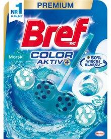 Bref WC Color Aktiv+ Zawieszka do muszli WC morski 50 g