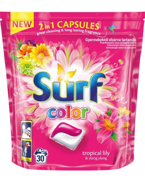 Surf Color Tropical Lily & Ylang Ylang Kapsułki do prania 723 g (30 prań)
