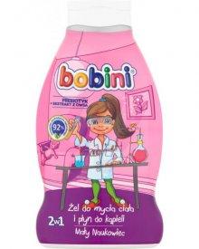 Bobini Żel mycia ciała i płyn do kąpieli 2w1 mały naukowiec 660 ml
