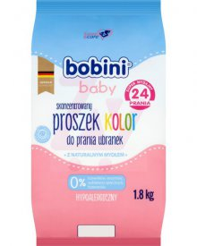 Bobini Baby Skoncentrowany proszek do prania ubranek kolor 1,8 kg (24 prania)