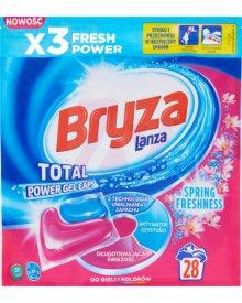 Bryza Lanza Spring Freshness Kapsułki do prania białych i kolorowych tkanin 607,6 g (28 x 21,7)