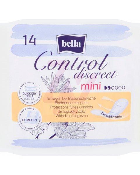 Bella Control Discreet Mini Wkładki urologiczne 14 sztuk