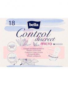 Bella Control Discreet Micro Wkładki urologiczne 18 sztuk