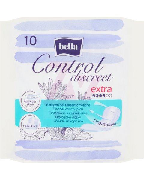 Bella Control Discreet Extra Wkładki urologiczne 10 sztuk