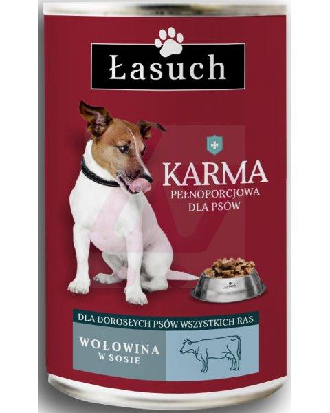 Łasuch karma pełnoporcjowa dla dorosłych psów 1,25kg