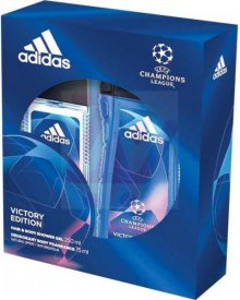 Adidas UEFA Victory Edition zestaw kosmetyków deo atomizer + żel pod prysznic