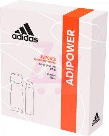 Adidas Woman ADIPOWER zestaw kosmetyków dezodorant + żel pod prysznic