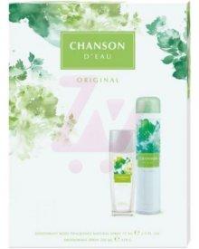 Chanson D'eau Original zestaw kosmetyków deo atomizer + dezodorant