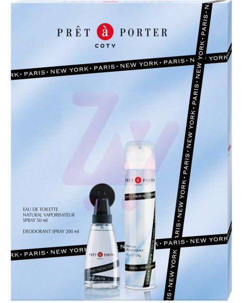 Prêt-à-Porter Classic zestaw kosmetyków EDT 50ml + dezodorant