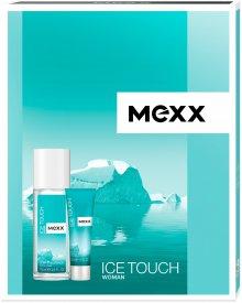 Mexx ICE TOUCH damski zestaw kosmetyków deo atomizer + żel pod prysznic
