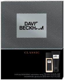 David Beckham CLASSIC zestaw kosmetyków deo atomizer + żel pod prysznic
