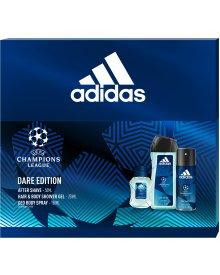 Adidas UEFA zestaw kosmetyków EDT + deozodorant + żel pod prysznic