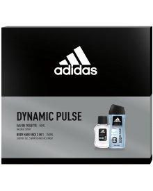 Adidas DYNAMIC PULSE zestaw kosmetyków EDT + żel pod prysznic