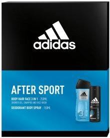 Adidas AFTER SPORT zestaw kosmetyków dezodorant + żel pod prysznic