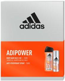 Adidas ADIPOWER zestaw kosmetyków dezodorant + żel pod prysznic