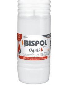 Bispol Ognik WP3 200g wkład do zniczy parafinowy 1szt