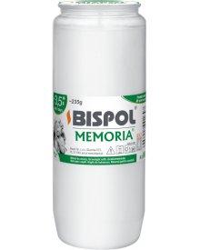 Bispol Memoria W04 235g wkład do zniczy olejowy 1szt