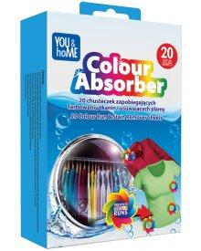 You&Home chusteczki zapobiegające farbowaniu do prania 20szt