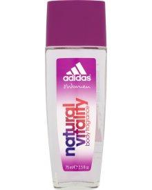 Adidas for Women Natural Vitality Odświeżający dezodorant z atomizerem 75 ml