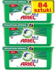 Ariel Allin1 Pods Mountain Spring Kapsułki do prania, 84sztuki