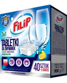 Filip tabletki do zmywarki 40 + 5 sztuk gratis