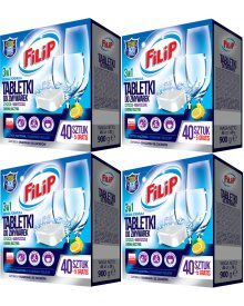 Filip tabletki do zmywarek 160 + 20 gratis