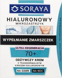 Soraya Hialuronowy mikrozastrzyk 70+ Odżywczy krem na dzień i na noc 50 ml