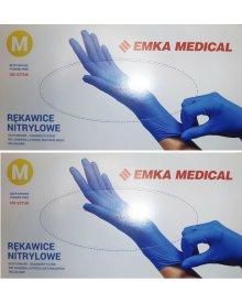 Emka Medical rękawiczki nitrylowe rozmiar M - 100 szt