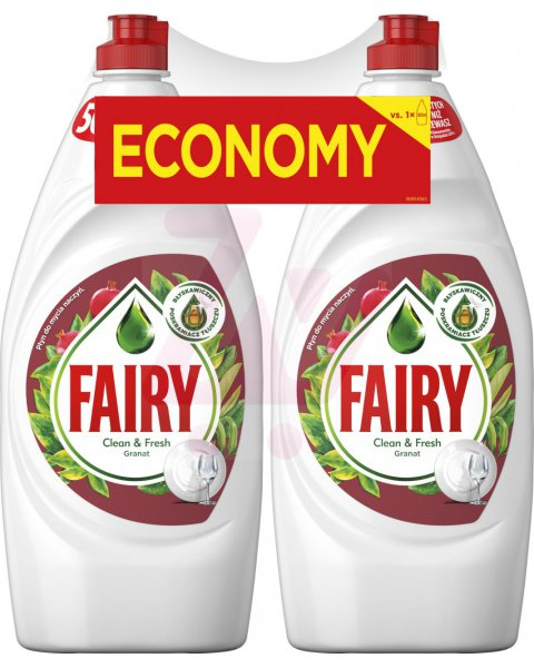 Fairy Granat Płyn do mycia naczyń 1.8l