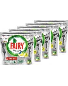 Fairy Platinum All in One Lemon Kapsułki do zmywarki 90 sztuki