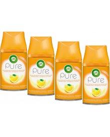 Air Wick Pure Wkład do odświeżacza powietrza śródziemnomorska pomarańcza 250 ml 4 sztuki