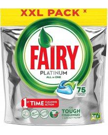Fairy Platinum All In One Regular Kapsułki do zmywarki 75 sztuk