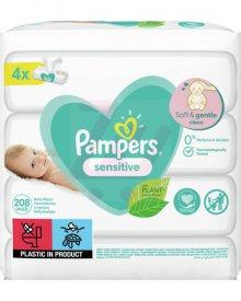 Pampers Sensitive Chusteczki 208szt