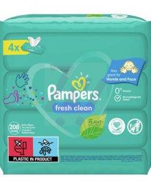 Pampers Fresh Clean Chusteczki 208szt