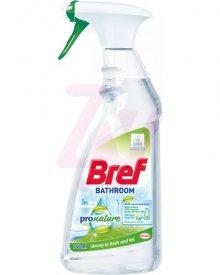 BREF PRO NATURE PŁYNNY ŚRODEK DO CZYSZCZENIA POWIERZCHNI W ŁAZIENCE 750 ML