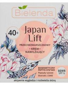BIELENDA JAPAN LIFT 40+ PRZECIWZMARSZCZKOWY KREM NAWILŻAJĄCY NA DZIEŃ SPF 6 50 ML