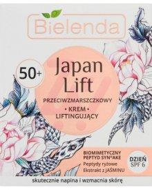 BIELENDA JAPAN LIFT 50+ PRZECIWZMARSZCZKOWY KREM LIFTINGUJĄCY NA DZIEŃ SPF 6 50 ML
