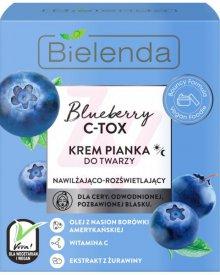 BIELENDA BLUEBERRY C-TOX KREM PIANKA DO TWARZY 40 G