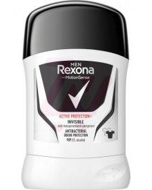 REXONA MEN ACTIVE PROTECTION+ INVISIBLE ANTYPERSPIRANT W SZTYFCIE DLA MĘŻCZYZN 50 ML
