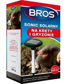 BROS Sonic solarny odstrasza krety i gryzonie