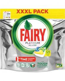 Fairy Platinum Lemon Tabletki do zmywarki, 125 kapsułek