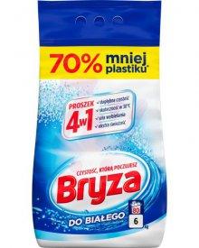 Bryza 4w1 Proszek do prania do białego 6 kg (80 prań)