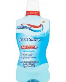 Aquafresh Triple Protection Fresh & Minty Płyn do płukania jamy ustnej 500 ml