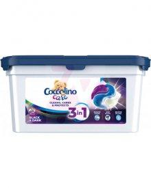 Coccolino Care Kapsułki 3w1 do prania czarnych i ciemnych tkanin 783 g (29 prań)