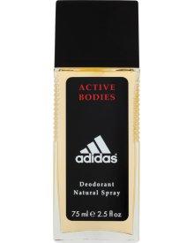 Adidas Active Bodies Dezodorant z atomizerem dla mężczyzn 75 ml