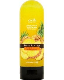 Joanna Fruit Fantasy Hawajski ananas Peeling do ciała gruboziarnisty 200 ml