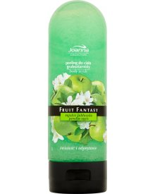 Joanna Fruit Fantasy Rajskie jabłuszko Peeling do ciała gruboziarnisty 200 ml