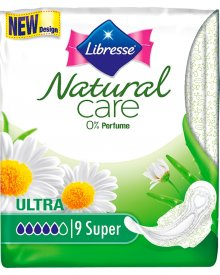 Libresse Podpaski Natural Ultra Super Clip 9 sztuk