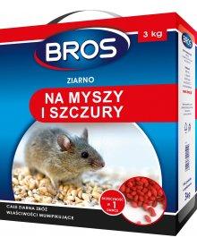 BROS Ziarno na myszy i szczury 3kg