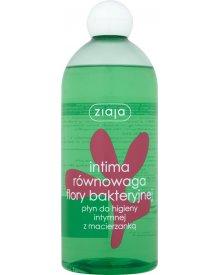 Ziaja Intima Równowaga flory bakteryjnej Płyn do higieny intymnej z macierzanką 500 ml
